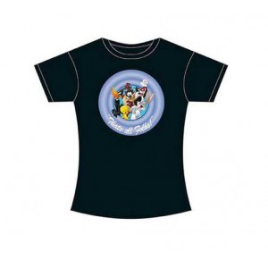 T-Shirt Femme Looney Tunes, That's All Folks