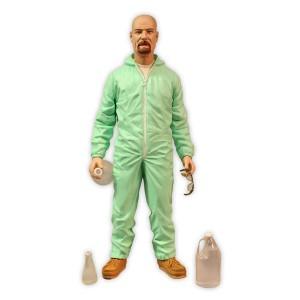 Figurine Walter White Blue Hazmat Suit 15cm