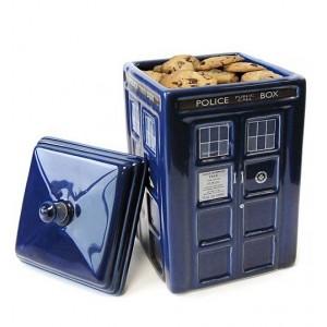 Boîte à cookies Tardis en céramique