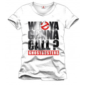 T-Shirt SOS Fantômes Who ya Gonna Call