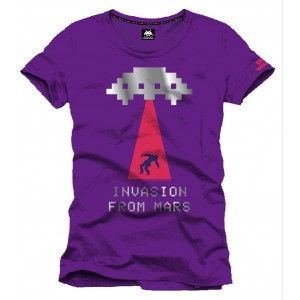 T-Shirt Space Invaders Invasion From Mars