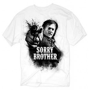T-shirt Daryl Dixon Sorry Brother - The Walking Dead