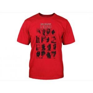 T-Shirt The Walking Dead Faces