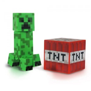 Figurine Minecraft Creeper 8cm