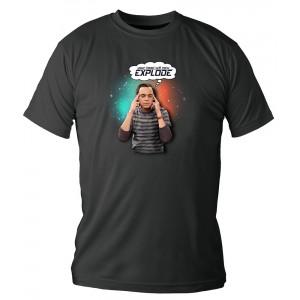 T-Shirt The Big Bang Theory : Explode
