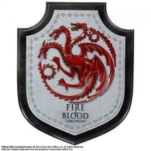Écusson mural Maison Targaryen de Game Of Thrones