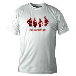 T-Shirt The Big Bang Theory : Costumes Flash