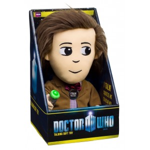 Peluche 11th Doctor 23cm sonore avec effets lumineux - Doctor Who