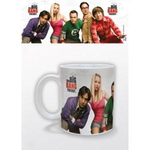 Mug The Big Bang Theory : le cast