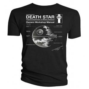 T shirt plan de l 39 etoile noire star wars - L etoile noire star wars ...