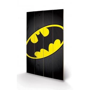 Tableau bois 46x77cm Batman