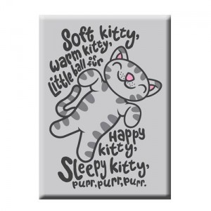 Magnet Soft Kitty The Big Bang Theory