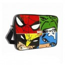 Faces of Marvel Comics messenger bag