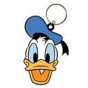 Disney Rubber Keychain Donald Duck 6 cm