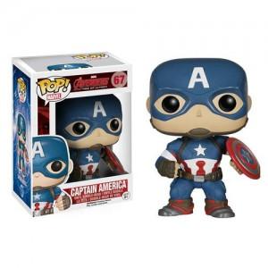 Figurine Captain America Avengers l'ère d'Ultron Pop! 9cm
