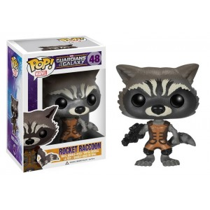 Figurine Rocket Raccon Pop! Vinyl - Guardians Of The Galaxy