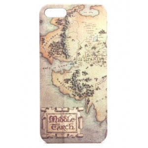 Coque iPhone 5 Middle Earth - The Hobbit