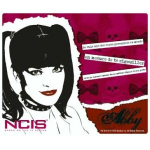 "Tapis de souris NCIS, ""Abby"""
