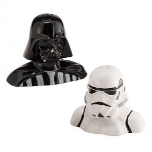Salière et poivrière Dark vador  et Stormtrooper - Star Wars