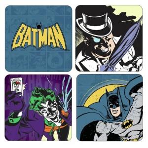 Set de 4 sous-verres Batman