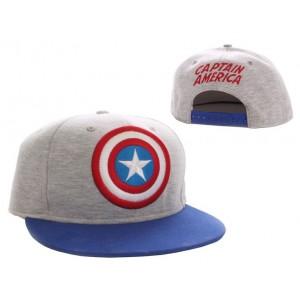 Casquette Captain America : Vintage / Star