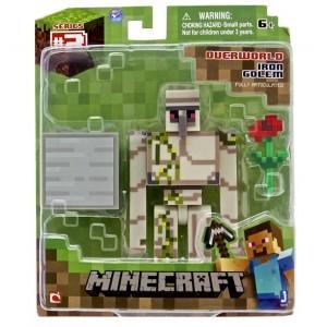 Figurine Iron Golem de Minecraft 8cm