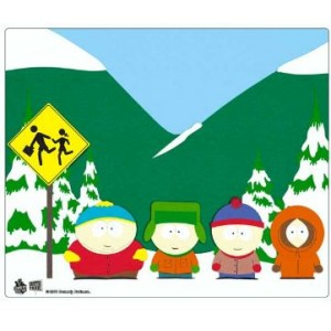 Tapis de souris South Park, le groupe