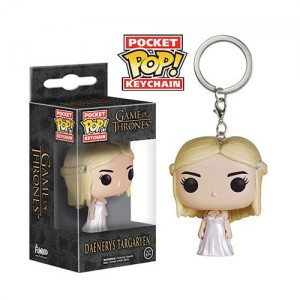 Porte-clés Daenerys Targaryen de Game Of Thrones version Pop! Vinyl