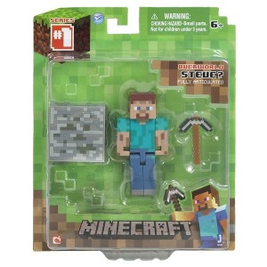 Minecraft Action Figure Steve 8 cm