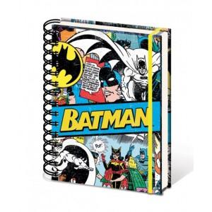 Cahier à spirale A5 Batman Retro