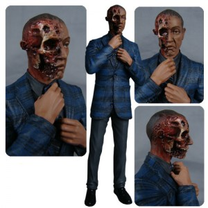 Figurine Gus Fring Burned Face de Breaking Bad