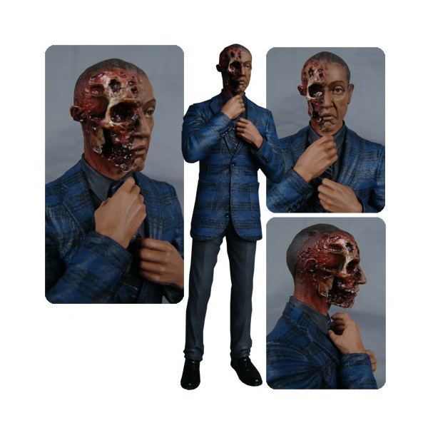 action figure gus fring burned face ee exclusive 15 cm breaking bad. Black Bedroom Furniture Sets. Home Design Ideas