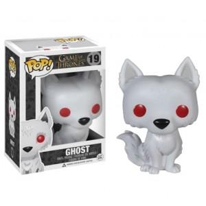 Figurine Ghost, le Dire Wolf de Game of Thrones - Pop! Vinyl
