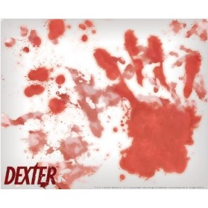 "Tapis de souris Dexter, ""Bloody Hands"""