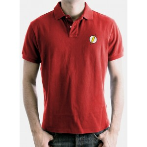 The Flash red polo