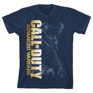 T-shirt Call Of Duty Modern Warfare bleu golden