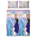 Duvet Set Reversible Crystal 135 x 200 cm / 48 x 74 cm - Frozen