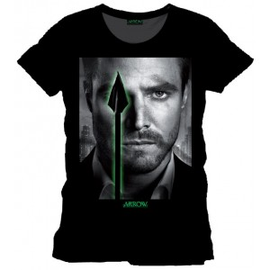 T-Shirt Arrow : Eyes - Stephen Amell
