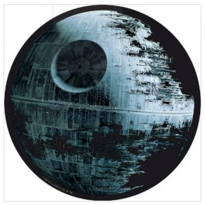 "Tapis de souris Star Wars, ""Death Star"""