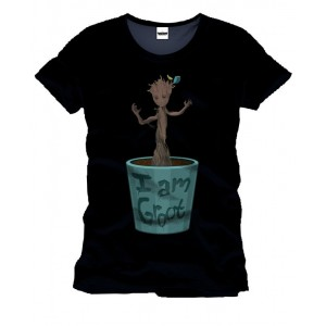 T-shirt Baby Groot Groove