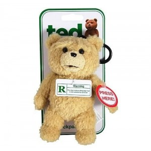 Ted peluche Clip-On Rated 15 cm *ANGLAIS*