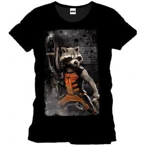 T-shirt Rocket Raccoon - Guardians of the galaxy