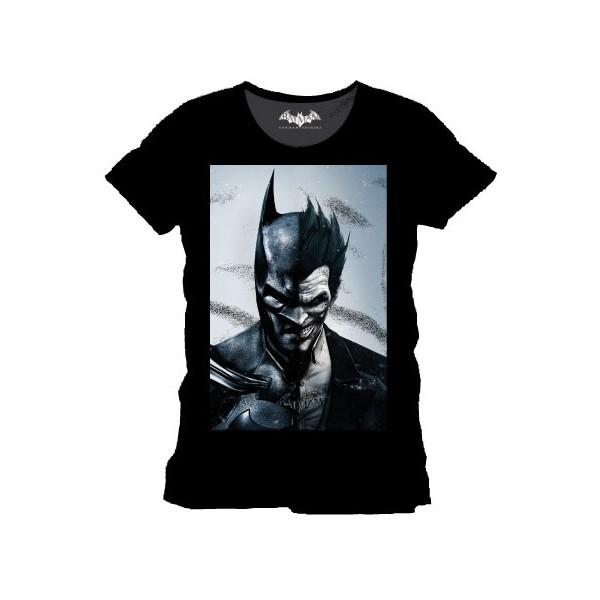 f42dcb64 Half-Batman Half-Joker T-shirt | Arkham Origins video game - Forom47.com