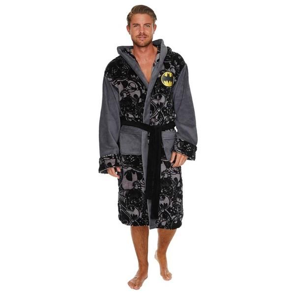 fleece bathrobe metamorphosis batman. Black Bedroom Furniture Sets. Home Design Ideas