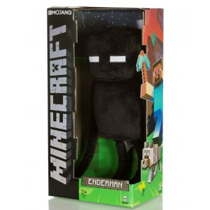 Peluche Enderman de Minecraft