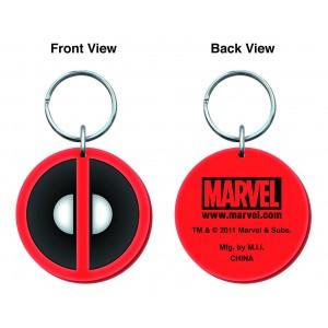 Porte-clé Deadpool en gomme
