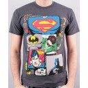Justice League superheroes t-shirt from DC comics