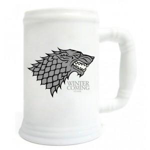 Chope en verre Targaryen de Game Of Thrones