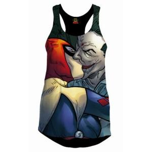 Débardeur femme Joker and Harley Quinn Kiss