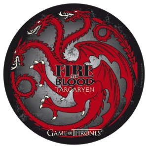 Tapis de souris Game Of Thrones, Targaryen